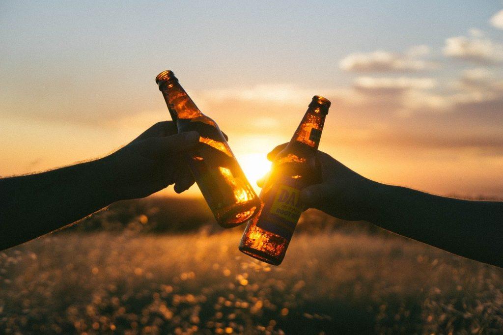 Um brinde a cerveja sem alcool