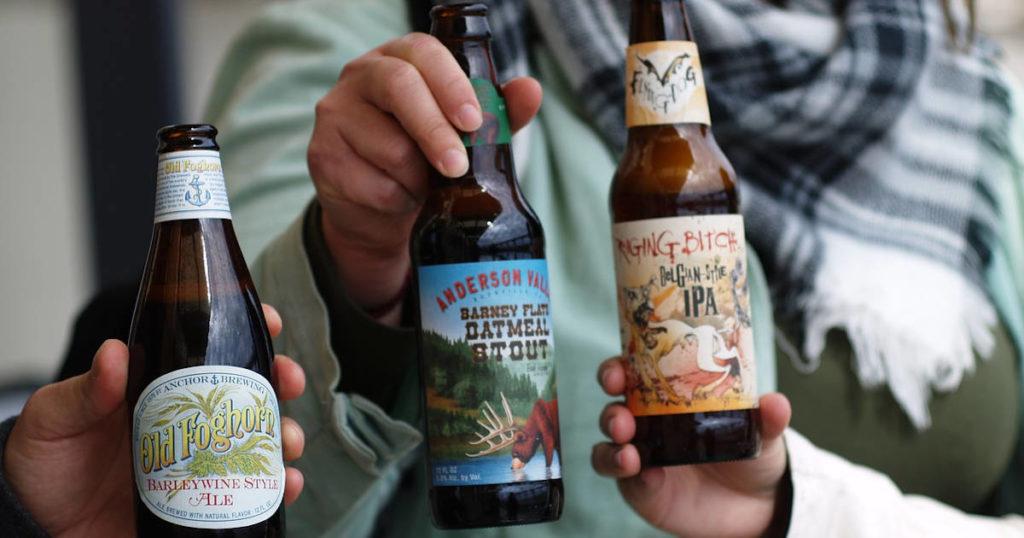 Amigos e a cerveja IPA
