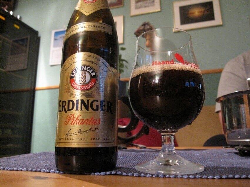 Cerveja Weiss escura